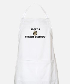 Adopt a FRENCH BULLDOG BBQ Apron