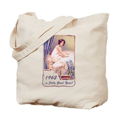 50th Birthday Gifts, 1962 Tote Bag