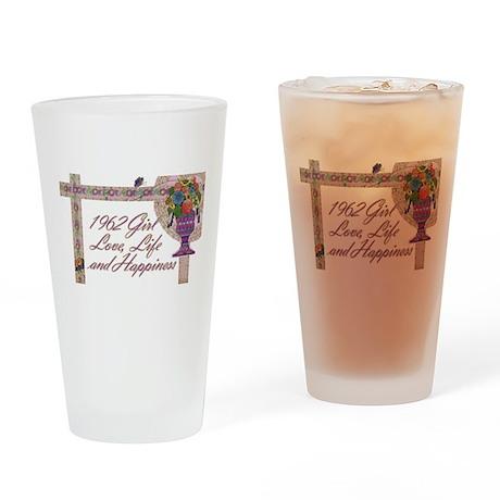 50th Birthday Gifts, 1962 Drinking Glass