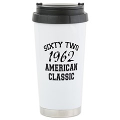 50th Gifts, 1962 Classic Travel Mug