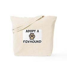 Adopt a FOXHOUND Tote Bag
