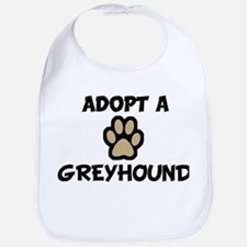 Adopt a GREYHOUND Bib