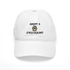 Adopt a GREYHOUND Baseball Cap