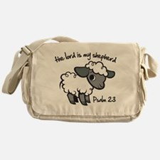 The Lord is my Shepherd Messenger Bag