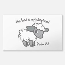 The Lord is my Shepherd Decal