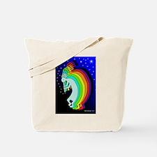 Kokopelli Stars Tote Bag