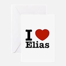 I love Elias Greeting Card