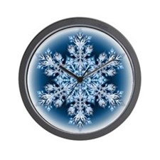 Snowflake 32 Wall Clock