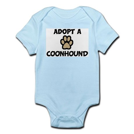 Adopt a COONHOUND Infant Creeper