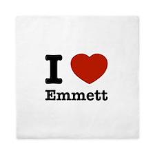 I love Emmett Queen Duvet