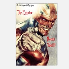 The Empire Needs You! Postcards (Package of 8)