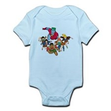 Captain Planet and the Planet Infant Bodysuit