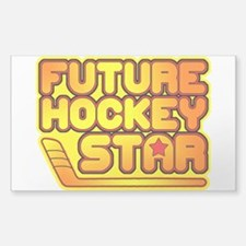 Future Hockey Star Decal