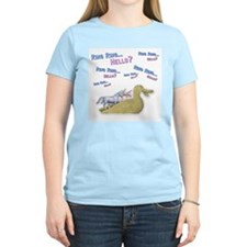 Charlie-D20-WhiteApparel T-Shirt