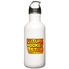 Future Hockey Star Water Bottle