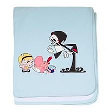 The Grim Adventures of Billy baby blanket