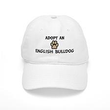 Adopt an ENGLISH BULLDOG Baseball Cap