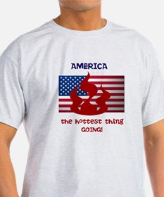 America the Hottest Thing Goi T-Shirt