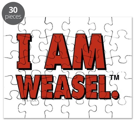 I am Weasel Puzzle