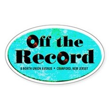 Off the Record Decal