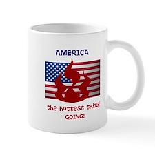 America the Hottest Thing Goi Mug