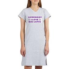 Cute Lupus sucks Women's Nightshirt