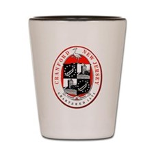 Cranford Municipal Emblem (1963) Shot Glass
