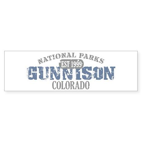 Gunnison National Park CO Sticker (Bumper 10 pk)