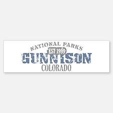 Gunnison National Park CO Bumper Bumper Sticker