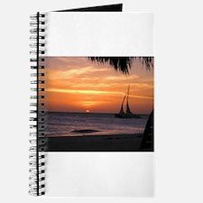 Aruba Sail at Sunset Journal