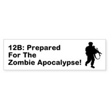 Funny 2012 end of the world Bumper Sticker