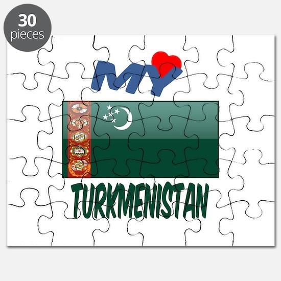 My Love Turkmenistan Puzzle