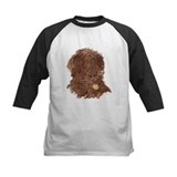 Chocolate labradoodles Baseball Jersey