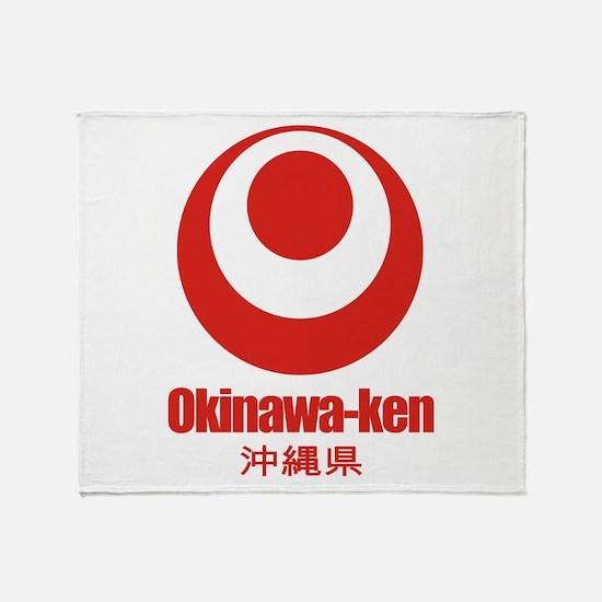 """Okinawa-ken"" Throw Blanket"