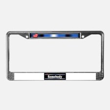 Custom Identity License Plate Frame