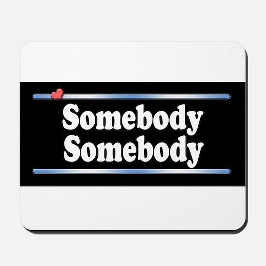 Custom Identity 2 line Mousepad