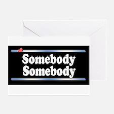 Custom Identity 2 line Greeting Cards (Pk of 20)