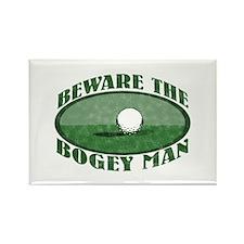 Beware the Bogey Man Rectangle Magnet