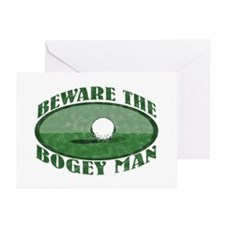 Beware the Bogey Man Greeting Cards (Pk of 10)