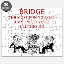 duplicate bridge player joke Puzzle