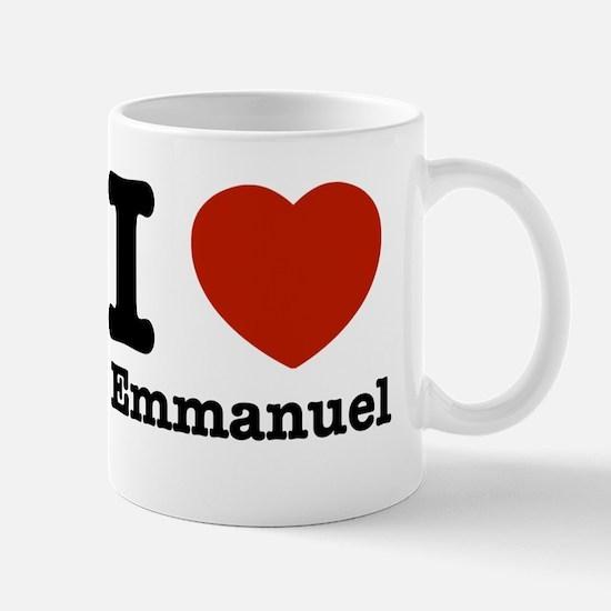 I love Emmanuel Mug