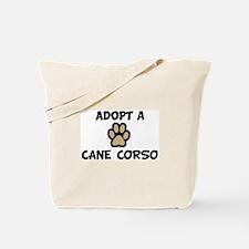 Adopt a CANE CORSO Tote Bag