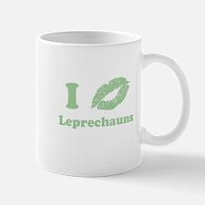 I Kiss Leprechauns Mug