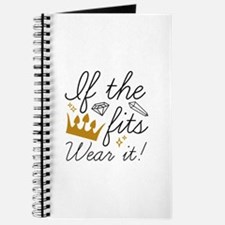 If The Crown Fits Journal