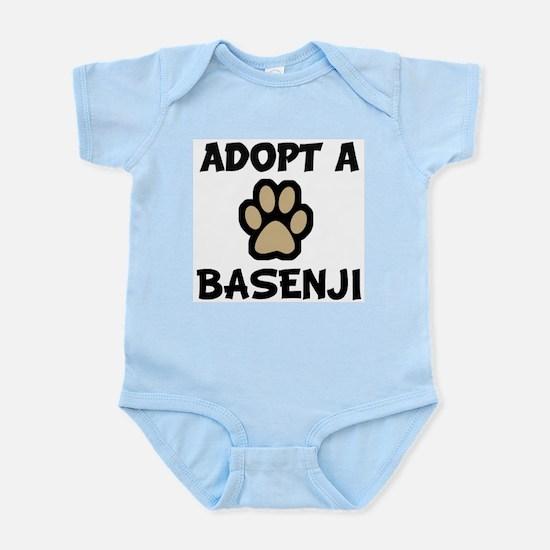 Adopt a BASENJI Infant Creeper