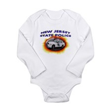 New Jersey State Police Long Sleeve Infant Bodysui