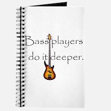 Bass Player Journal