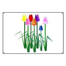Lots O' Tulips Banner