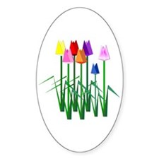 Lots O' Tulips Decal