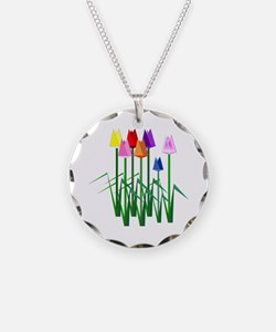 Lots O' Tulips Necklace